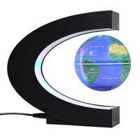 Magnetico Levitazione Globo Globe Luce notturna Galleggiante Mappa del mondo Palla Lampada a sfera Cool Illuminazione Ufficio Decorazione Della Casa Terrestre Globo Lampada 1460 V2