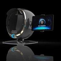 7 em 1 portátil 3d do teste da pele do analisador da pele da câmara e do scanner do cabelo 3D análise facial digital analisador da pele