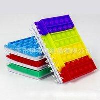 Toys Color Finger Bubble Música Cubierta de silicona Cuaderno de descompresión, Toy Toy CT27 de escritorio