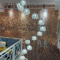 Decorative Flowers & Wreaths 3D Rainbow Sequin Shimmer Wall Wedding Stage Backdrop Walls Panel Prop Birthday Party Decor Business Advertisin