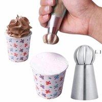 Newstainless bolo de aço creme de gelo creme tubulação bocalhos bolo decoração de pastelaria dica boca fondant creme creme ferramentas de cozimento acessórios rra9456