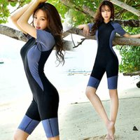 Maillot de bain une pièce Plus Taille 5XL Dames Vêtements de surf Collants de plage Surfs Sportswear Femme Wetsuit