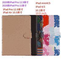Para 2020 iPad Pro 11 Tablet Funda de alta calidad para iPad Air10.5 Air1 2 Mini45 iPad10.2 iPad56 Diseñador Fashion Cire Clee Clee Pocket Ipad Case