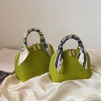 가을 / 겨울 패션 여성 가방 간단한 휴대용 실크 스카프 수 놓은 스레드 원 - 어깨 메신저 가방