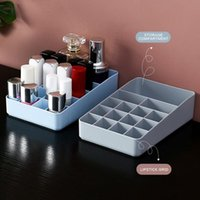 Storage Boxes & Bins 2021 Plastic Makeup Box Cosmetic Desktop Organizer Bedroom Jewelry Racks Home Container Supplies