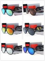 راي فاخر ماركة الاستقطاب الرجال النساء الطيار النظارات الشمسية uv400 نظارات حظر للمرأة إطار المعادن بولارويد عدسة 4125