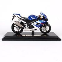 Maisto 1/18 118 Ölçekli Suzuki GSX R1000 Motosiklet Motosikletler Diecast Ekran Modelleri Doğum Günü Hediyesi Oyuncak Erkek Çocuklar için