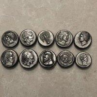 Антикварные разные слухи, разбитый серебряный серебряный Pegasus древнегреческий римский серебряные монеты гомера эпические коммуникативные монеты металлические ремесла