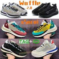 Waffel 2.0 xsacai Laufschuhe Männer Frauen Sporttrainer Weißer Rauch Grau Triple Black Sport Fuchsia Spiel Royal Sneakers Mode Chaussures