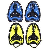 الكبار الاطفال تعديل السباحة الغوص قفازات اليد كاميرا ويب سيليكون زعنفة القواعد التدريب مجداف الضفدع الاصبع شاطئ الملحقات