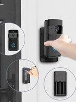 Dossier vidéo sans fil Wi-Fi Bell Pir Détection 2-Way Talk Video-Eye pour appartements Porte Anneau Sécurité Caméras Satellines