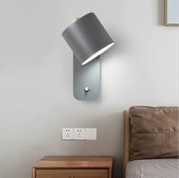 Indoor wall lamp, interior lighting, Nordic style for living room, bedroom, house, led, with switch, hallway BD2513