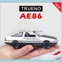 1:28 الأولي d ae86 سبائك معدنية دييكاست لعبة المركبات مصغرة مقياس نموذج سيارة لعب للأطفال LJ200930 هدايا dieca venb5