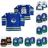 23 Oliver Ekman-Larsson Vancouver Canucks 50. Jahrestag Jersey Bo Horvat Elias Pettersson-Brock Boeser Brad Hunt Quinn Hughes Brandon Sutter