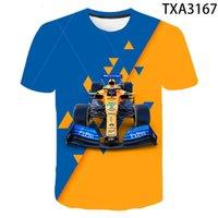K8 T shirts Summer Formule 1 3D Hommes Femmes Enfants Mode Casual Streetwear Goy fille enfants imprimé Cool Tops Thé