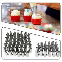 Stainless Steel Nozzle Set DIY Cake Decorating Tip Mouth Ici...