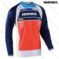 Moto Jersey Dağ Bisikleti Giyim MTB Bisiklet T-Shirt DH MX Fiets Gömlek Offroad Cross Wielertrui Sram Poc Nieuwe