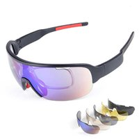 POC Bicycle Goggles Unusual Women's Cycling Glasses Tactical Male Polarized Glasses for Motorcycle Sport Sunglasses 5 Lenses Q0121