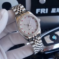 Women Mechanical Automatic Watch Ladies Watches Sapphire 35mm Gold Diamond Inlay Fashion Wristwatch Montre de Luxe