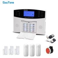 Gautone 505 GSM Keypad 모션 탐지기가있는 홈 보안 원격 제어 무선 집 도둑 경보 시스템
