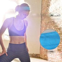 Sweatband Wide Fashion Headband Absorbent Sweat Band Head Breathable Yoga Tennis Gym Running Padel Accesorios Sports Accessories EF50FH