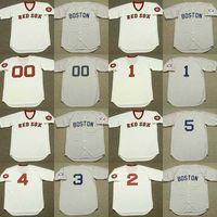 BOBBY DOERR JERRY REMY BUTCH HOBSON DENNY DOYLE BILL BUCKNER TROT NIXON CARL YASTRZEMSKI Baseball Jersey