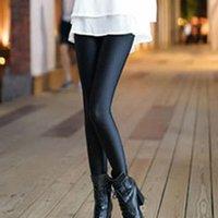 Women's Leggings Women Female Outer Wear Elastic Casual Fitness Skinny Pants Black Full Length