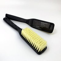 Esponja de carro Lucullan mole macio escova de cabelo longo alça para tecido, couro, piso tapete, pneu, motor Bay limpeza ferramentas acessórios