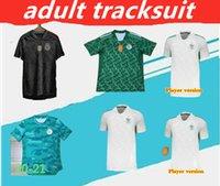 2020 Top Tailandia Maillot Argelie Player Versión y fans Jersey Soccer Jersey Home Away Mahrez Bounedjah Feghouli Bennacer Atal 20 21 Argelia Maillot