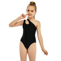 One-Pieces Children Swimsuit Girls Bathing Kids Print Suit Solid One Piece Sport Quick-drying Toddler Swim Designers Clothes