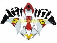 حقن ABS Free مخصص هدايا هدايا كيت هيكلية هدية مجموعات كاملة ل Yamaha YZF1000R1 09 10 11 YZF R1 YZFR1 CONLING 2009 2010 2011 أحمر أصفر أسود أبيض