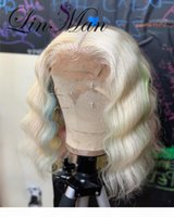 Brazilian Hair Lace Front Wigs Bob Wave Colorful color Baby Hair Human Hair Wigs