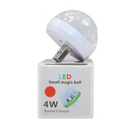 Car USB LED Party Lights Stage Effect Karaoke Atmosphere Lamp 4W 5V Portable Disco Ball Colorful Laser DJ Disco Light Music