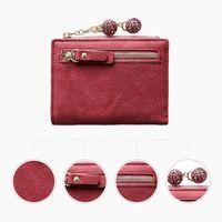 Storage Bags Practical Banknote Folder Women Wallet Female Short Multi-function Folding Purse Female's Gift