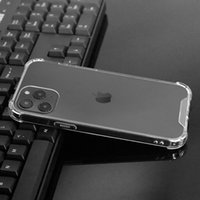 Custodie per cellulari acriliche duridiche di alta qualità antiurto per iPhone 12 11 Pro Max XR XS 7 8 Plus Clear Case