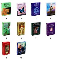 New Arrival 10 tyles Tarots Card Game Witch Rider Smith Waite Shadowscapes Wild Butterfly Oracle SieCle Tarot Deck Board Cards with Colorful Box English Version DHL