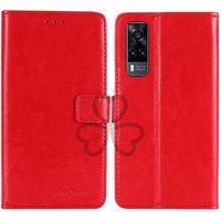 Handy-Taschen TienJueshi Business-TPU-Silikon-Flip-Schutz-Leder-Cover-Geldbörsenfall für vivo y31 v21 iqoo u3x y72 5g Beutel Shell Etui