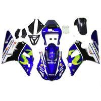 Feedings de motocicleta apto para Yamaha YZF-R1 1998 1999 Injecção Bodywork R1 98 99 ABS Frames de Corpo Plástico YZF1000 Painéis de Moto Jogo de Feira