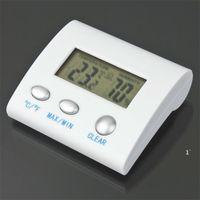 Dijital LCD Sıcaklık Nem Higrometre Termometre TL8025 Termo Hava İstasyonu Termometro Reloj Termal Imager Owe5530
