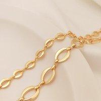 Plateado 14k True Gold Relleno Retención de color 5-8mm O Estilo Collar Cadenas DIY Joyería Haciendo accesorios Hallazgos de Joyería