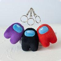 8 cm Llavero entre nosotros Muñeca de peluche de peluche Kawaii entre los juguetes de peluche de los EE. UU. Para niños Peluche Regalo de Navidad Lindos