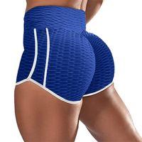 Women's Leggings Fitness Workout High Waist Push Up Booty Lifting Shorts Women Sports Running Pencil Pants Striped Leggins