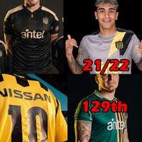 2021 2022 Uruguay Penarol Soccer Jersey 129ª edición conmemorativa 20 21 Club Atlético Peñarol Nueva casa C.Rodriguez F.Torres Camisa de Fútbol