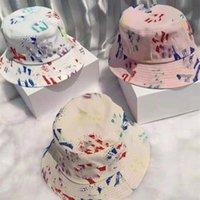 أعلى جودة الرجعية الصياد قبعة البرية الملونة نيويورك حوض القبعات الشمس الظل sunhat السيدات 3 ألوان تسليم سريع
