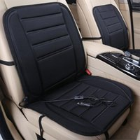 Car Seat Covers 12V Heated Cushion With 2 Heat Levels Warm Non Slip Front Driver Passenger Pad Cover For Winter