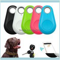 Pet Supplies Home & Gardenpet Smart Gps Tracker Mini Anti-Lost Waterproof Bluetooth Locator Tracer For Dog Cat Kids Car Wallet Key Collar Ae