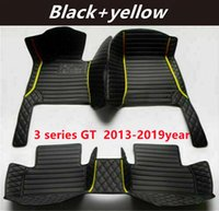 FOR BMW 3 series GT 2013-2019year Custom Car Splicing Floor Mats Waterproof Leather Wear-resistant Non-toxic Tasteless and Environmentally Friendly Foot Mats