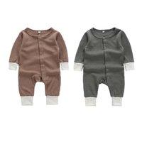 Designer Ins Bambini Boutique Abbigliamento Neonato Ragazzo Vestiti Baby Girl Pagliaccetto Manica Lunga Tute Suite Neonati Onesies Bodysuits Toddler 562 K2