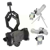 الهاتف الخليوي يتصاعد حاملي 1x تلسكوب محول حامل عالمي نطاق جبل كليب قوس اكتشاف المجهر adjus i9p7