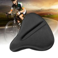 Bike Saddles Soft Silicone MTB Seat Cushion Cover For Large Wide Saddle Pad Cycling Bicycle Accessories